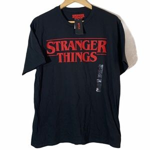 STRANGER THINGS NETFLIX Men Sz XL 80s NWT T-shirt